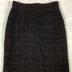 Ann Taylor Women's Mohair & Wool Lined Skirt Sz 4